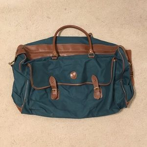 "Polo RL Large Duffle Travel bag 24""x16"" Green"